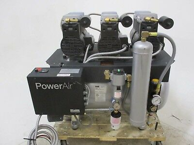 Used Midmark P32 Dental Air Compressor System for Operatory Air Pressure