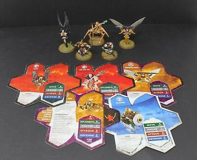 Heroscape Expansion Set Wave 6 Dawn of Darkness Heroes of Durgeth 2006 Hasbro
