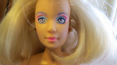 Jem and the Holograms 🌟Jerrica Doll Vintage Hasbro 1985 Light Up Earrings Cutie