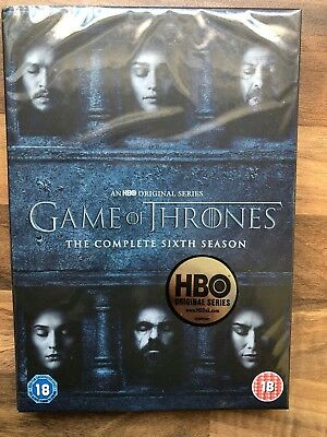 Game of Thrones (GoT) - Staffel 6 - original verpackt - season 6