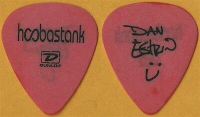 Hoobastank Dan Estrin authentic band issued 2004 tour signature Guitar Pick