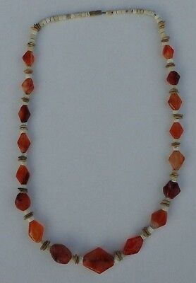 Wonderful Ancient Roman Agate / Carnelian Beads Necklace.