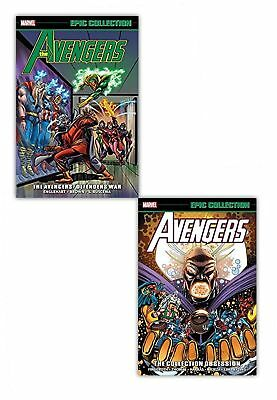 Marvel Avengers Epic Collection Defenders War Obsession 2 Books Set Pack Pb NEW