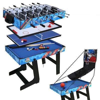 5 in 1 Game Table Hockey Basketball Ping Pong Snooker Table Game Room For Child