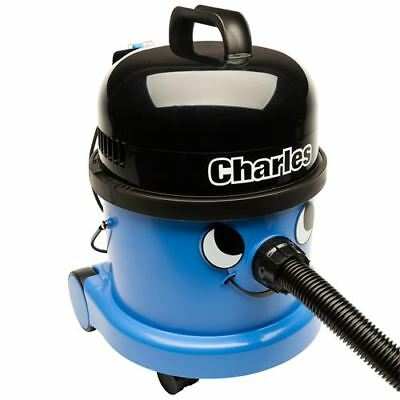 Numatic Charles CVC370-2 (240V) Wet and Dry Vacuum Cleaner (Blue) + Kit A21A Ful