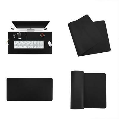 """Desk Pads & Blotters Large Leather Mat 35"""" X 18"""" Smooth Protector Extended"""
