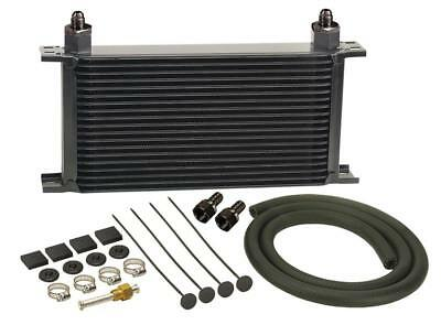 """Derale Stacked Plate Fluid Cooler 13403 7.313""""H x 13""""W -6 AN Inlet/Outlet"""