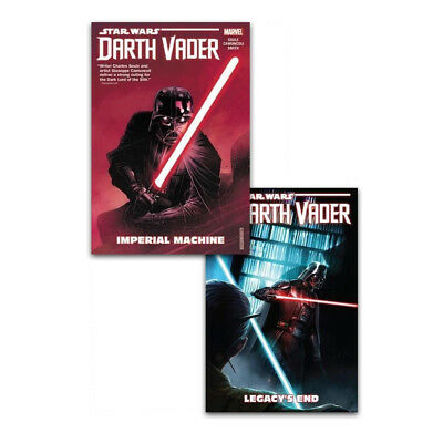 Star Wars Darth Vader Dark Lord Of Sith Collection 2 Books Set Paperback NEW