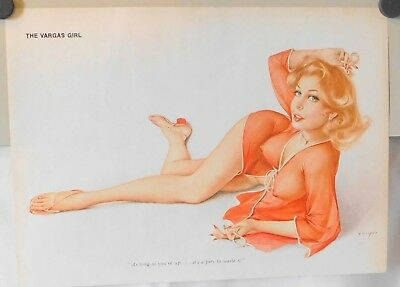 Alberto Vargas  Pinup Art Playboy 1974  10 Months  Great Color. 2 Not Made