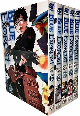 Kazue Kato Collection Blue Exorcist 5 Books Volume 11-15 (Series 3) Set PB NEW