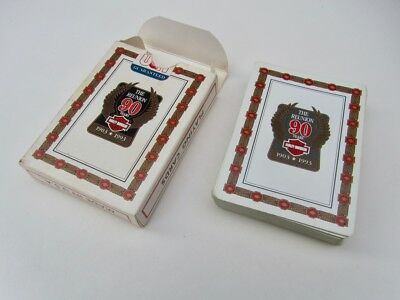 RARE! Vintage 1993 Harley-Davidson 90th Anniversary Poker Playing Cards NICE!