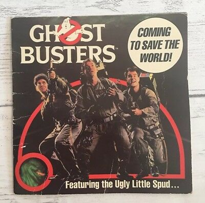 Ghost Busters Movie Picture Book Vintage 1984 Rare Collectible Antioch 80s Retro
