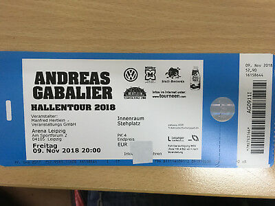 andreas gabalier tickets karte m nchen olympiahalle stehplatz arena eur 64 50. Black Bedroom Furniture Sets. Home Design Ideas