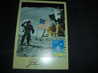 APOLLO 15 VIP card orig.signed James IRWIN, SPACE