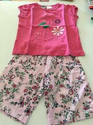 OUCH - Girls summer PJ's - size 1
