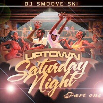 Best Of Uptown Saturday Night Old School DJ Compilation Mix CD