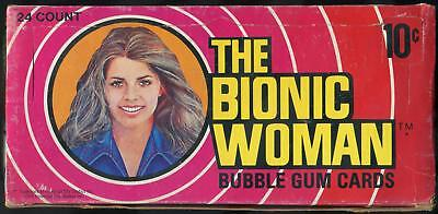 1976 Donruss The Bionic Woman 10-Cent Display Box
