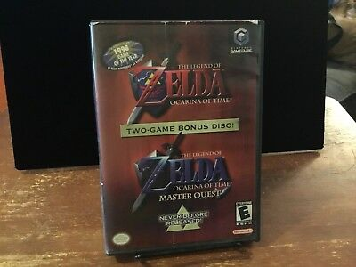 Legend of Zelda Ocarina of Time Master Quest Nintendo GameCube 2002