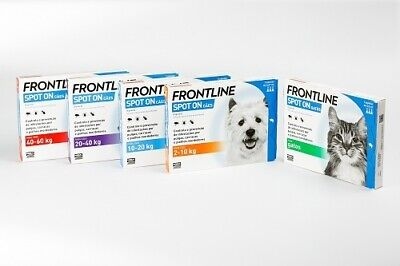 FRONTLINE SPOT ON anti-puce,tiques et insectes 3pip
