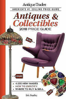 Antique Trader - Antiques & Collectibles Price Guide Hardcover Book, 2018) New