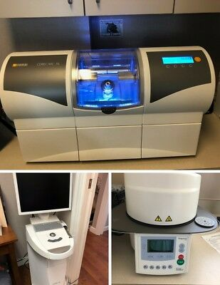 Sirona CEREC AC Omnicam Dental Scanner w/ MCXL Mill & Programat CS Oven