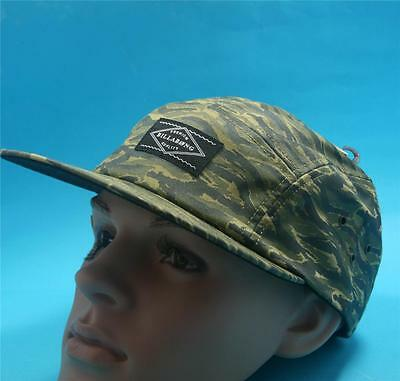 BILLABONG MENS Boys Cap Military Army Green Brown Cabie Hat Size Adjustable NEW