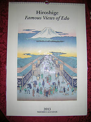 Hiroshige - Famous Views of Edo - Calendario 2013