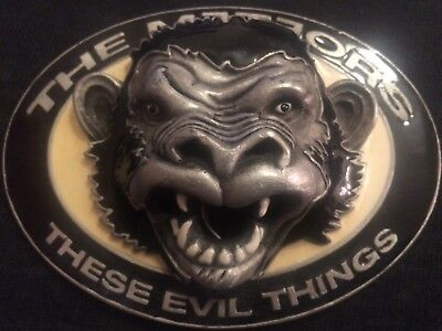 Gürtelschnalle buckle the Meteors These evil things psychobilly rockabilly Punk