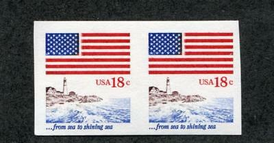 UNITED STATES 1891a MINT NH,18c IMPERF PAIR