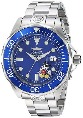 Invicta 24497 Disney Limited Edition Men's 47mm Automatic Blue Dial Watch