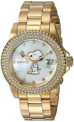 Invicta 24809 Character Collection Women's 40mm Gold-Tone Steel Watch