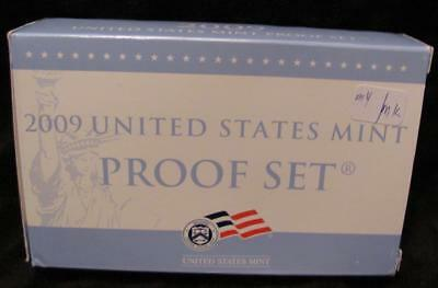 2009S United States 18 Coin Proof Set.  In Box of Issue.           #MF