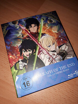 Seraph of the End Vol 1 Premium Edition Blu Ray Anime
