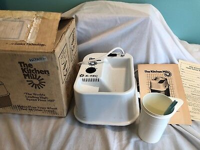 THE KITCHEN MILL Model 91 K-TEC FLOUR GRAIN WHEAT MILL Grinder Replacement Parts