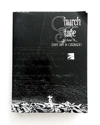 CEREBUS Book 4: CHURCH & STATE Volume II by DAVE SIM and GERHARD Graphic Novel