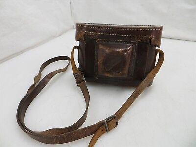 Weltini Folding 35mm Rangefinder Film Camera w/ Leather Case