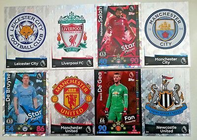 MATCH ATTAX 2018/19 18/19 # 180-270 Liverpool Man U Man City Leicester Newcastle