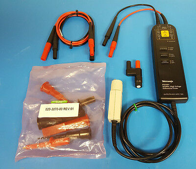 Tektronix P5210A 50 MHz High-Voltage Differential Probe w/ Accessories