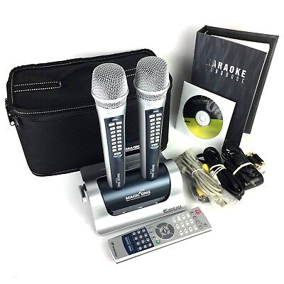 Magic Sing EG-18000 Wireless Karaoke + Carrying Bag