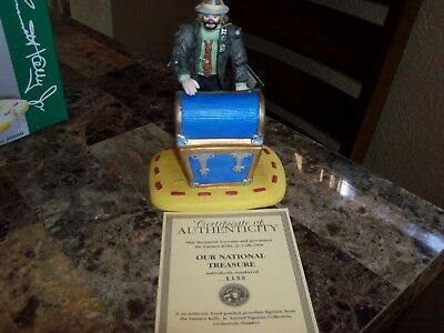 Emmett Kelly Jr Annual Figurine Collection (Our National Treasure) #9899