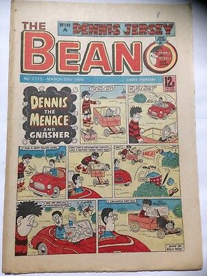 DC Thompson THE BEANO Comic. Issue 2173. March 10th 1984. **Free UK Postage**
