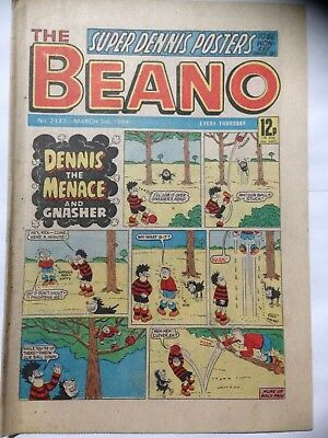 DC Thompson THE BEANO Comic. Issue 2172. March 3rd 1984. **Free UK Postage**