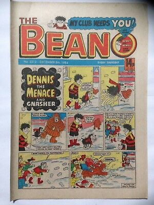 DC Thompson THE BEANO Comic. Issue 2212. December 8th 1984. **Free UK Postage**