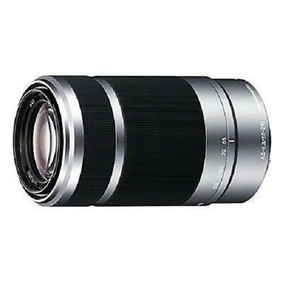 USED Sony E 55-210mm f/4.5-6.3 OSS Silver SEL55210 Excellent FREE SHIPPING