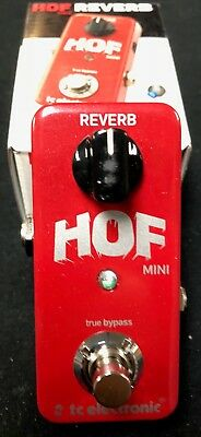 TC ElectronicHall Of Fame Mini Reverb Guitar Effects Pedal Authorized Dealer
