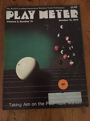 Play Meter Magazine October 15, 1979 - V. 5 #19 - Ads For Meteor, Genie