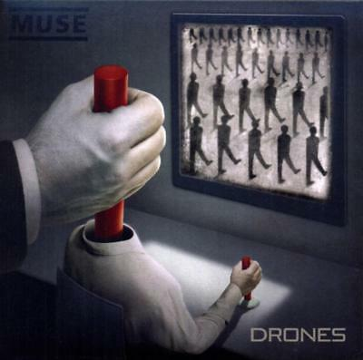 Muse : Drones (Deluxe Edition) 2 Disk CD & DVD (Brand New)