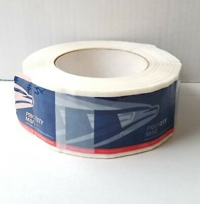 NEW! ONE ROLL -- USPS PRIORITY MAIL TAPE (Eagle Logo) Label 106-A  October 1997