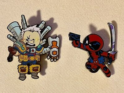 NYCC 2018 Marvel Skottie Young EXCLUSIVE pin Cable & Deadpool