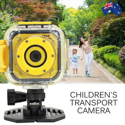 Children's Sports Camera Waterproof Camera with Video Recorder 8GB Memory Card A